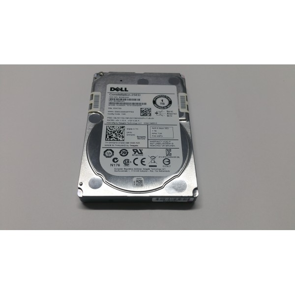 Hard disk server DELL Constellation.2SED ST91000642SS 1TB 7200RPM 6Gbps DP/N XKGH0